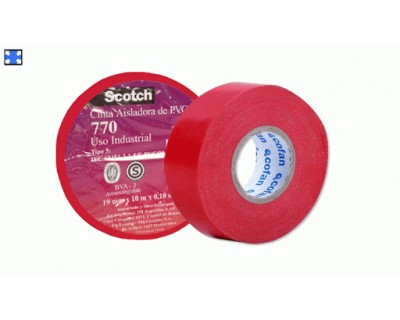 Cinta aislad.3m pvc scotch...